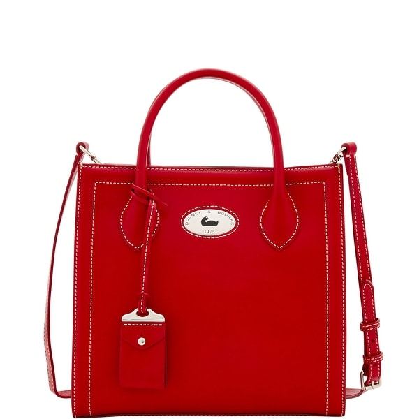 Dooney & Bourke Florentine Toscana Handheld Tote (Introduced by Dooney & Bourke at $368 in Sep 2016) - Red