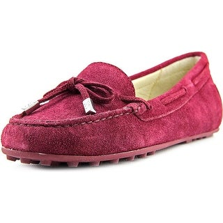 Michael Michael Kors Daisy Moc Round Toe Suede Loafer
