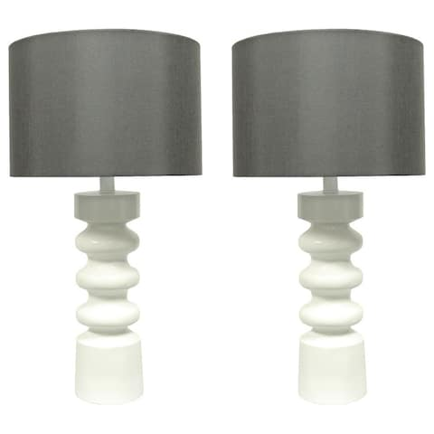 """Set of 2 Lamont Table Lamps, 22"""" Tall"""