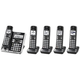 Panasonic KX-TG785SK Link2Cell BluetoothCordless Phone with Voice Assist and Answering Machine - 5 Handsets|https://ak1.ostkcdn.com/images/products/is/images/direct/ccc13f816ccf4a5e9c78c5e2e0c2ff96ad03aad2/Panasonic-KX-TG785SK-Link2Cell-BluetoothCordless-Phone-with-Voice-Assist-and-Answering-Machine---5-Handsets.jpg?impolicy=medium
