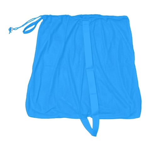 "27"" Blue Pool and Beach Mesh Accessory Bag"