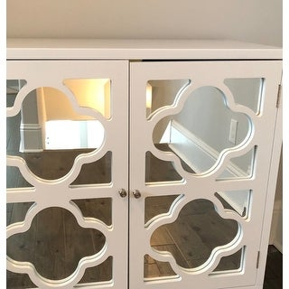 Lifestorey Broadway Mirrored Double Door Cabinet