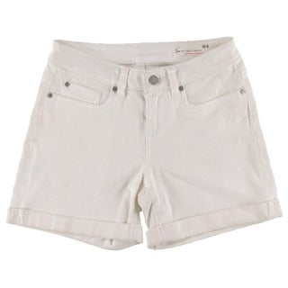 Two by Vince Camuto Womens Denim Cuffed Shorts - 25