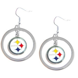 Pittsburgh Steelers Hoop Earring