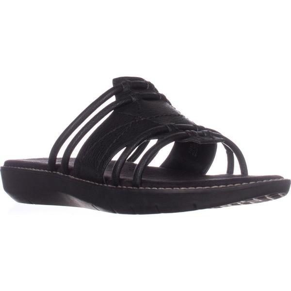 Aerosoles Super Cool Slide Sandals, Black1