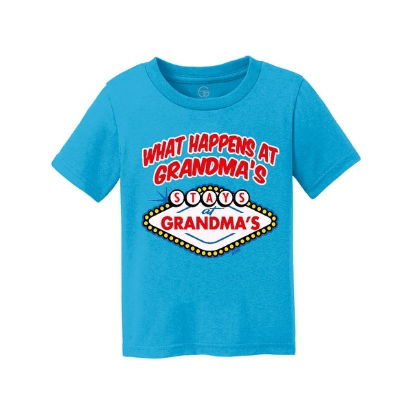 Gravity Trading What Happens at Grandma's Youth Short-Sleeve T-Shirt