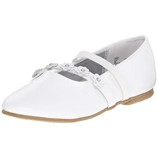 Balleto Girls Charm Leather Mary Janes
