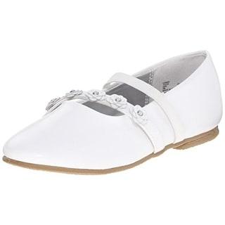 Balleto Girls Charm Embellished Slip On Ballet Flats