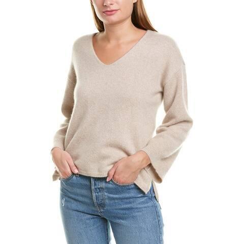 Minnie Rose Pullover Cashmere Sweater