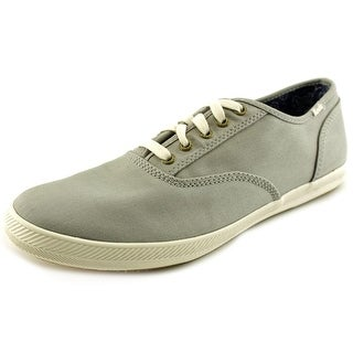 Keds Champion Army Twill Round Toe Canvas Sneakers