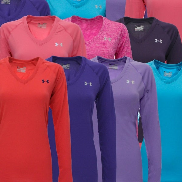 aff682977 Shop Under Armour Women's T-Shirt Fitness 3-Pack Long Sleeve - Free  Shipping On Orders Over $45 - Overstock - 24169742