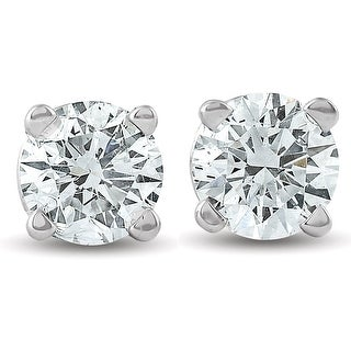 Link to Pompeii3 14k White or Yellow Gold 1/3 ct TDW Diamond Studs Similar Items in Earrings