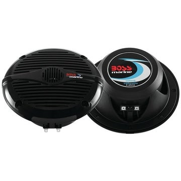 "BOSS 5.25"" Black 2-Way Marine Speaker"