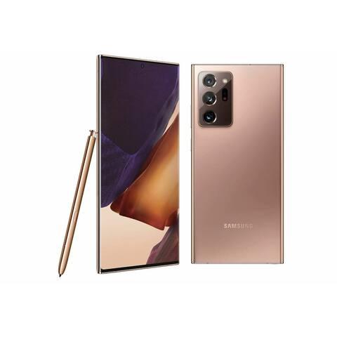 Samsung Galaxy Note 20 Ultra 5G 128GB Refurbished Bronze Verizon Smartphone