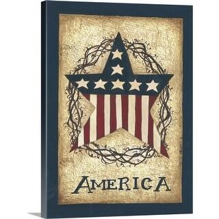 """America"" Canvas Wall Art"