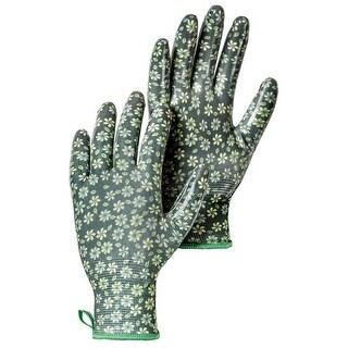 Hestra Job 72470-880-07 Form Fitting Garden Dip Glove, Dark Green, Size 7, Small