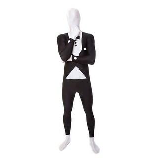 Deluxe Tuxedo Skintight Bodysuit Morphsuits Costume