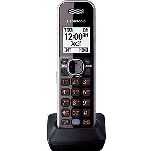 Panasonic Consumer Products Kx-Tga680s Dect 6.0 Cordless Telephone With Key Finder/Detector Included Silver