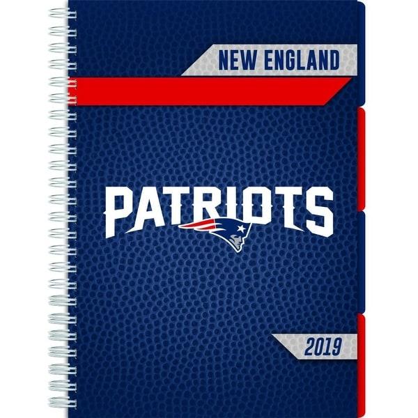 ba3d8e70 Shop 2019 NFL New England Patriots Planner, by Turner Licensing ...