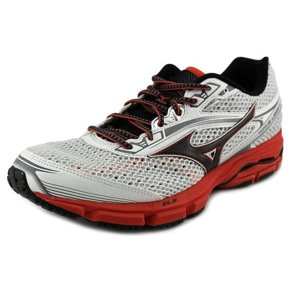 best sneakers f4d35 b046d Mizuno Wave Legend 3 Men Round Toe Synthetic White Running Shoe