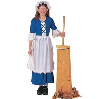 Forum Novelties Blue Colonial Girl Child Costume