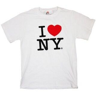 I Love Ny T-shirt-Adult Large