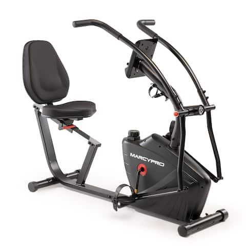 Marcypro Dual Action Recumbent Exercise Bike JX-7301
