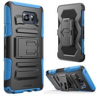i-Blason-Galaxy Note 5 Prime Series Holster Case - Blue