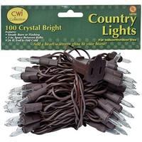 Light Set, Brown Cord, 100ct