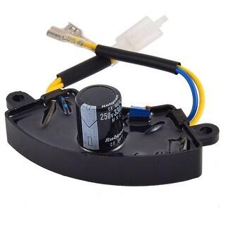 Unique Bargains Motorbike Automatic Voltage Generator Regulator Rectifier AVR Petrol 330uF 250V