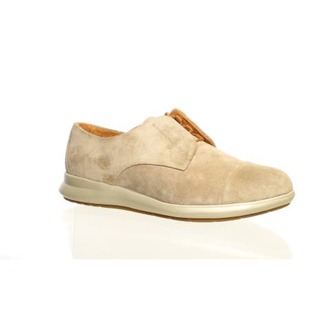 Samuel Hubbard Womens Freedom Now Taupe Oxfords Size 6