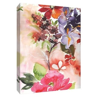"""PTM Images 9-148464  PTM Canvas Collection 10"""" x 8"""" - """"Early Spring II"""" Giclee Flowers Art Print on Canvas"""