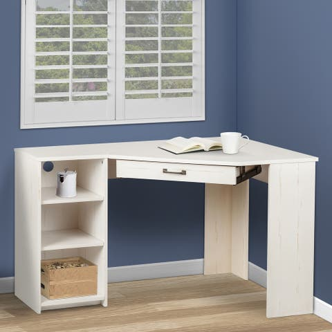 Graham Corner Desk and Bookcase Set