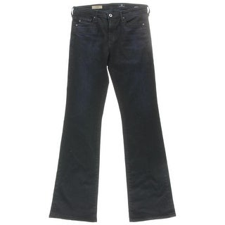 Adriano Goldschmied Womens The Angel Mid-Rise Stretch Bootcut Jeans