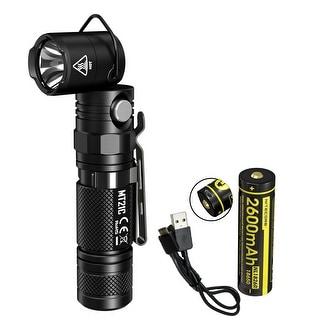 NITECORE MT21C 1000 Lumen 90 Degree Adjustable Flashlight w/ USB Rechargeable Battery