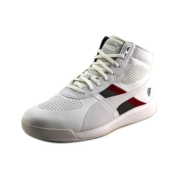 Puma Podio Mid SF Men Round Toe Synthetic White Sneakers