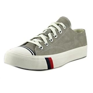 Pro Keds Royal Lo Men  Round Toe Leather Gray Sneakers