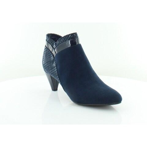 Karen Scott Womens Cahleb Almond Toe Ankle Fashion Boots