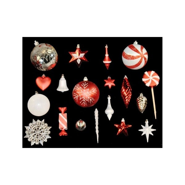 Christmas at Winterland WL-ORNKIT-98-CDY 98 Mini Candy Ornaments