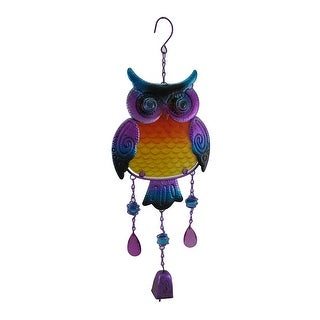 Purple Hanging Tin Owl Sculpture w/Bell and Glass Insert Body|https://ak1.ostkcdn.com/images/products/is/images/direct/cce45c1cb0e97f39bf6459b67363cff1a37b7ffd/Purple-Hanging-Tin-Owl-Sculpture-w-Bell-and-Glass-Insert-Body.jpg?_ostk_perf_=percv&impolicy=medium