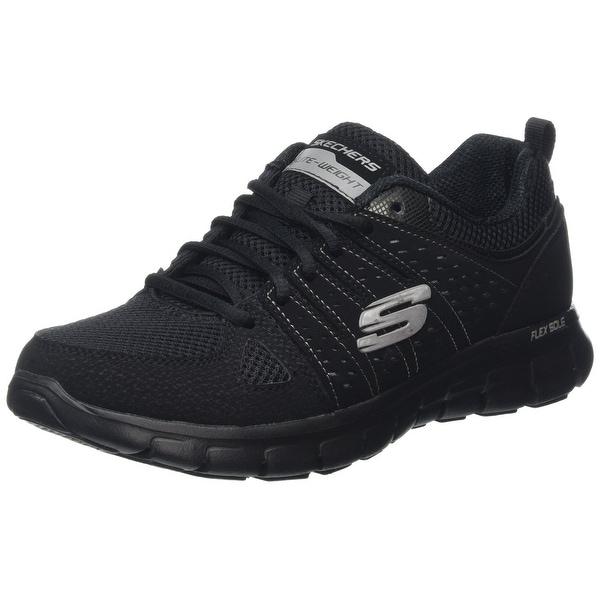 Shop Skechers Synergy Look Book Womens Sneakers Black Free