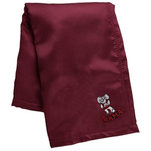Happy Feet Mens and Womens Alabama Crimson Tide NCAA Baby Blanket - Alabama Crimson Tide