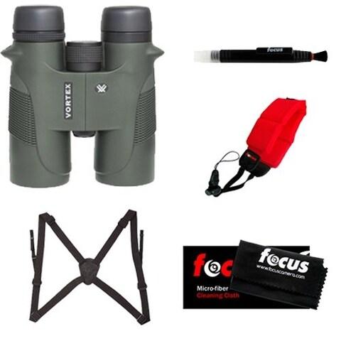 Vortex Optics Diamondback 10x42mm Binocular with Harness and Accessory Kit