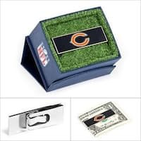 NFL Chicago Bears Money Clip - Black