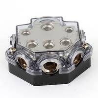 Unique Bargains 5 Ways Out Power Distribution Block Fuseholder for Car Audio Amplifier