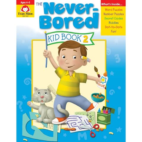 Neverbored Kid Book 2 Ages 4-5