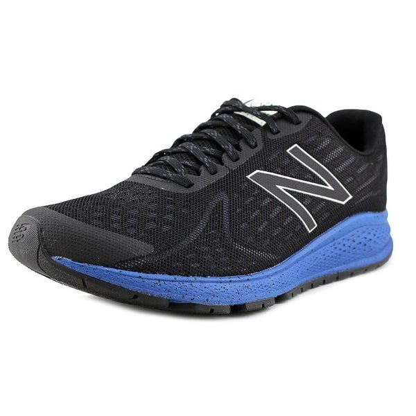 New Balance MRUSH Men Round Toe Synthetic Black Running Shoe