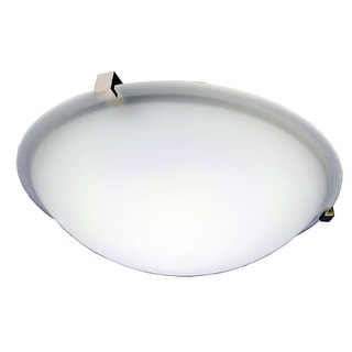 HomeSelects International 6142 Contempo 2 Light Flush Mount Ceiling Fixture