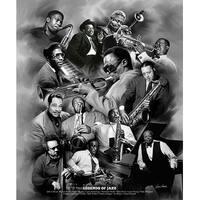 ''Legends of Jazz'' by Wishum Gregory Music Art Print (24 x 20 in.)
