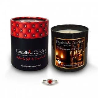 Daniella's Candles Smell Of Christmas Jewelry Candle - Earrings